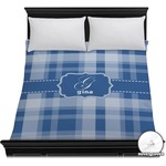 Plaid Duvet Cover (Personalized)