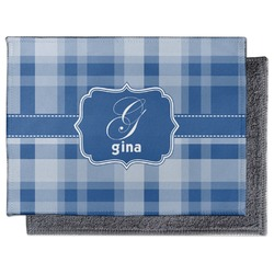 Plaid Microfiber Screen Cleaner (Personalized)