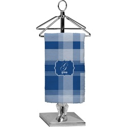 Plaid Finger Tip Towel - Full Print (Personalized)