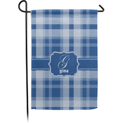 Plaid Garden Flag - Single or Double Sided (Personalized)