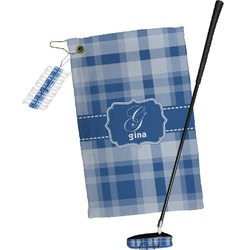 Plaid Golf Towel Gift Set (Personalized)