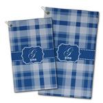 Plaid Golf Towel - Full Print w/ Name and Initial