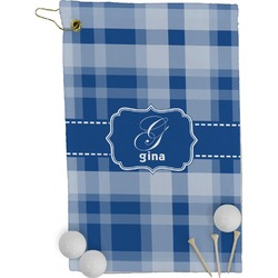 Plaid Golf Towel - Full Print (Personalized)