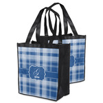 Plaid Grocery Bag (Personalized)