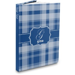 Plaid Hardbound Journal (Personalized)
