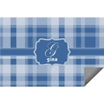 Plaid Indoor / Outdoor Rug (Personalized)