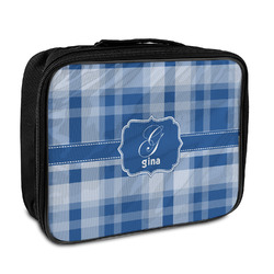 Plaid Insulated Lunch Bag (Personalized)