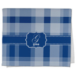 Plaid Kitchen Towel - Full Print (Personalized)
