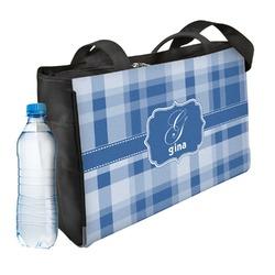 Plaid Ladies Workout Bag (Personalized)