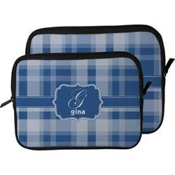 Plaid Laptop Sleeve / Case (Personalized)