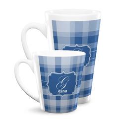 Plaid Latte Mug (Personalized)