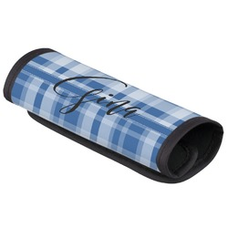 Plaid Luggage Handle Cover (Personalized)