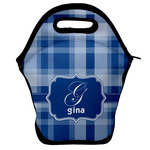 Plaid Lunch Bag w/ Name and Initial
