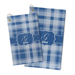 Plaid Microfiber Golf Towel (Personalized)