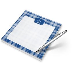 Plaid Notepad (Personalized)