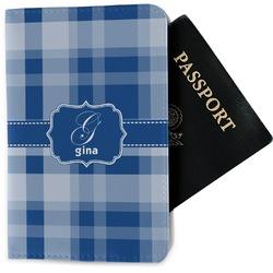 Plaid Passport Holder - Fabric (Personalized)