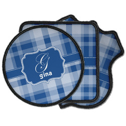 Plaid Iron on Patches (Personalized)