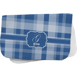 Plaid Burp Cloth (Personalized)