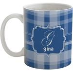 Plaid Coffee Mug (Personalized)