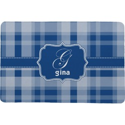 "Plaid Comfort Mat - 24""x36"" (Personalized)"