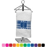 Plaid Finger Tip Towel (Personalized)