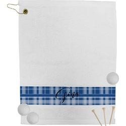 Plaid Golf Towel (Personalized)