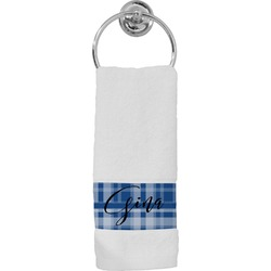 Plaid Hand Towel (Personalized)