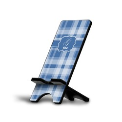 Plaid Phone Stand (Personalized)