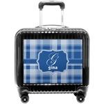 Plaid Pilot / Flight Suitcase (Personalized)