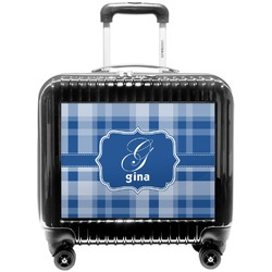 Plaid Pilot / Flight Suitcase (Personalized)