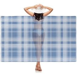 Plaid Sheer Sarong (Personalized)