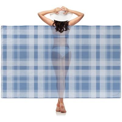Plaid Sheer Sarong (Personalized)