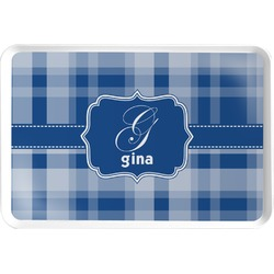 Plaid Serving Tray (Personalized)