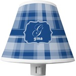 Plaid Shade Night Light (Personalized)