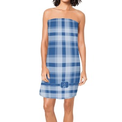 Plaid Spa / Bath Wrap (Personalized)