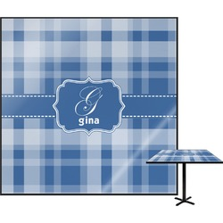 Plaid Square Table Top (Personalized)