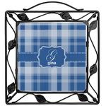 Plaid Trivet (Personalized)