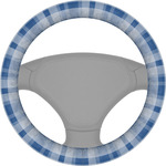 Plaid Steering Wheel Cover (Personalized)
