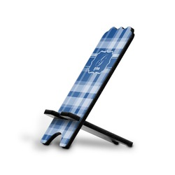 Plaid Stylized Phone Stand (Personalized)