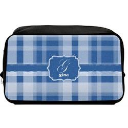 Plaid Toiletry Bag / Dopp Kit (Personalized)