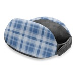 Plaid Travel Neck Pillow