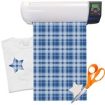 "Plaid Heat Transfer Vinyl Sheet (12""x18"")"