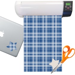 Plaid Sticker Vinyl Sheet (Permanent)