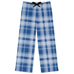 Plaid Womens Pajama Pants (Personalized)