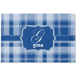 Plaid Woven Mat (Personalized)