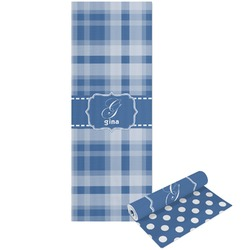 Plaid Yoga Mat - Printable Front and Back (Personalized)