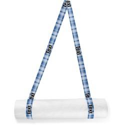 Plaid Yoga Mat Strap (Personalized)
