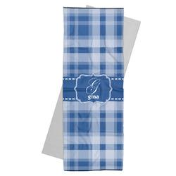 Plaid Yoga Mat Towel (Personalized)
