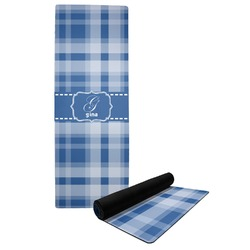 Plaid Yoga Mat (Personalized)