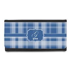 Plaid Leatherette Ladies Wallet (Personalized)